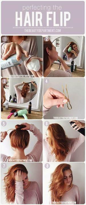 Perfecting Hair Flip Tutorial..