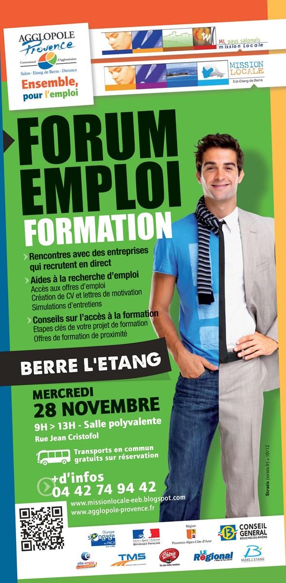 forum emploi formation berre l u0026 39 etang