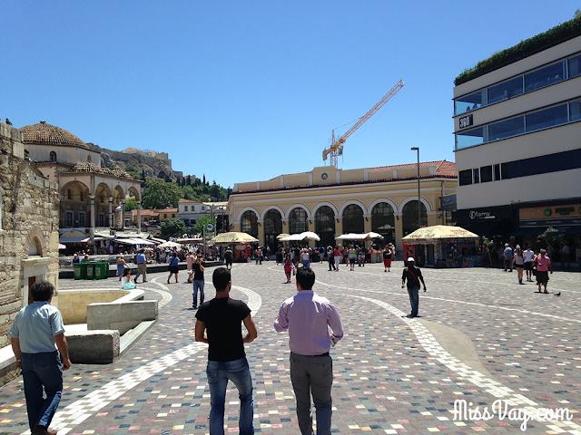 quartier Monastiraki à Athènes
