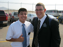 Elder Larkin and Elder Terrera