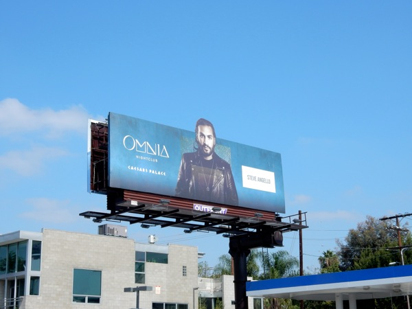 Steve Angello Omnia nightclub DJ billboard
