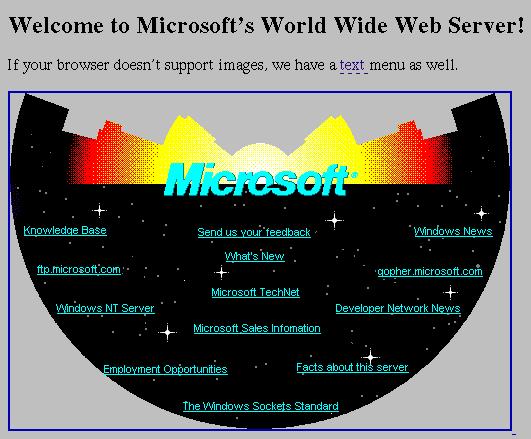 La evolución de las páginas web
