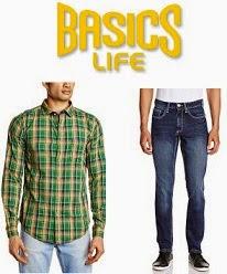 "Loot Offer: Flat 50% + Extra 30% Off on Men's  ""Basics"" & ""Cherokee"" Clothing @ Amazon"