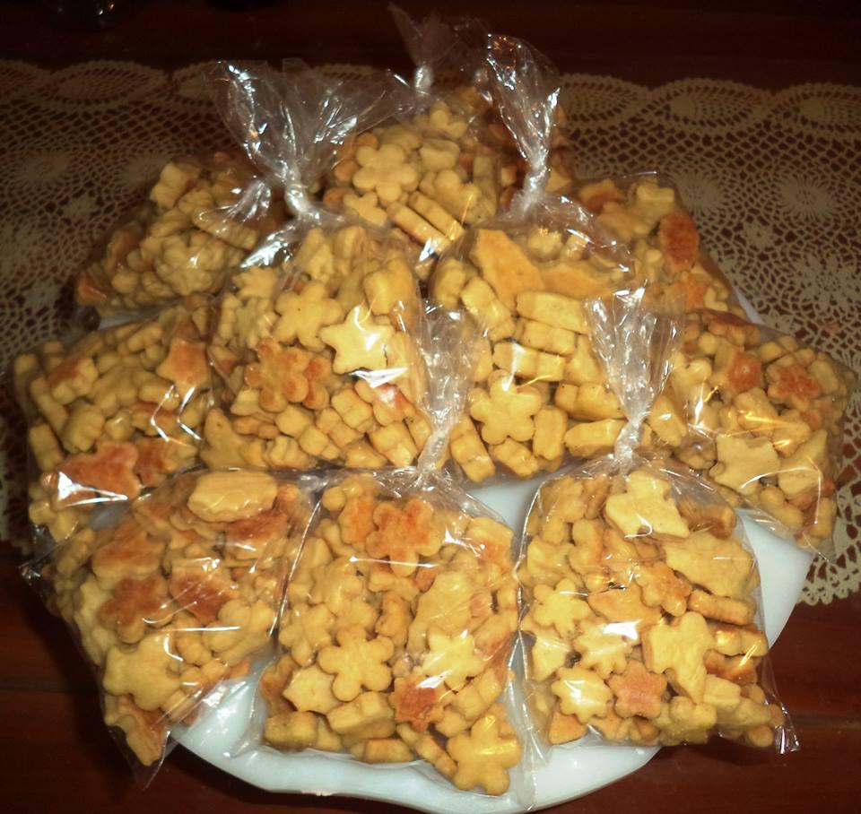 Suficiente vida doçura : Biscoitos amanteigados salgados UI85