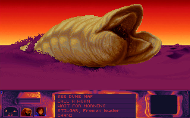 Dune 1 - The Sand Worms Description