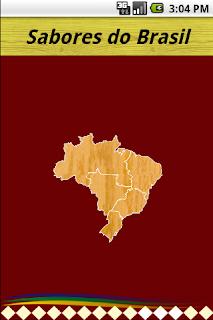 Sabore do Brasil App Android Receitas Típicas Pratos Brasileiros