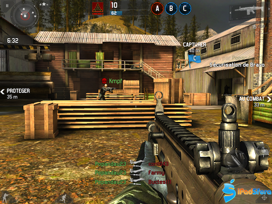 android game modern combat 3 free