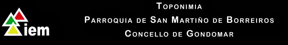 Toponimia de San Martiño de Borreiros