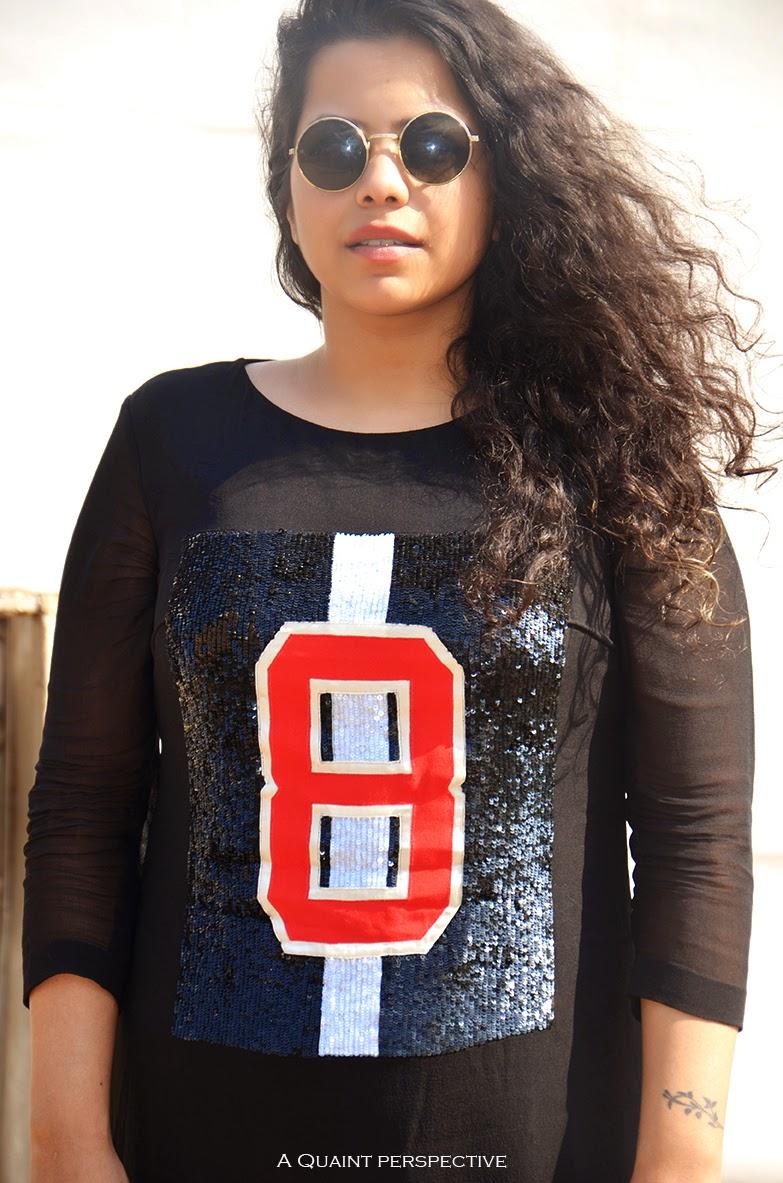 http://aquaintperspective.blogspot.com/, Shyama Shetty in Round gold rim sunglasses