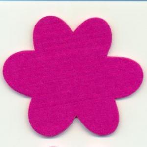 Moldes e ideias de flores e borboletas em feltro