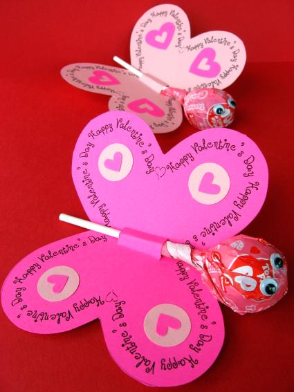 Father's Day Crafts to do with their Kids! Butterfly Valentine from Skip to