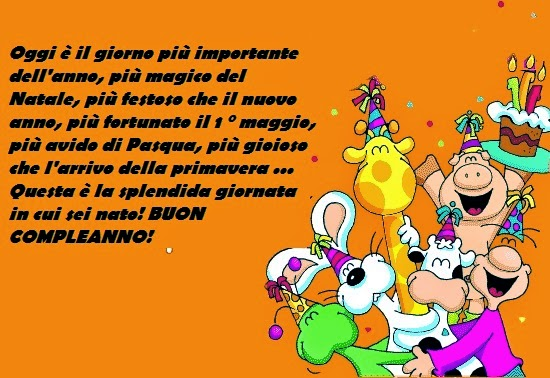 Joyeux anniversaire en italien
