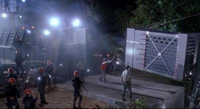 Jurassic Park opening scene