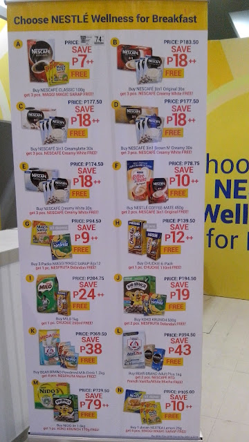 nestle promo bundle price expo 2015