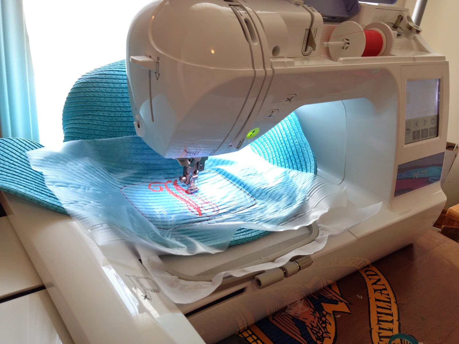 You Can Find Straw Hats Everywhere And You Can Embroider Them Because The  Fibers Are Woven You Can Easily Embroider The Hat Here Is How You Can  Embroider