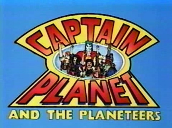 "Captain Planet and the Planeteers"" (1990) {Five Ring Panda-Monium (#6 ..."