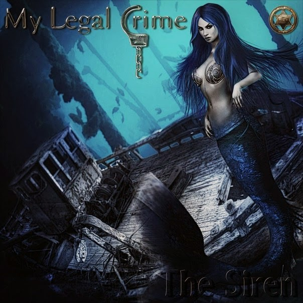 Metal album cover sexy mermaid