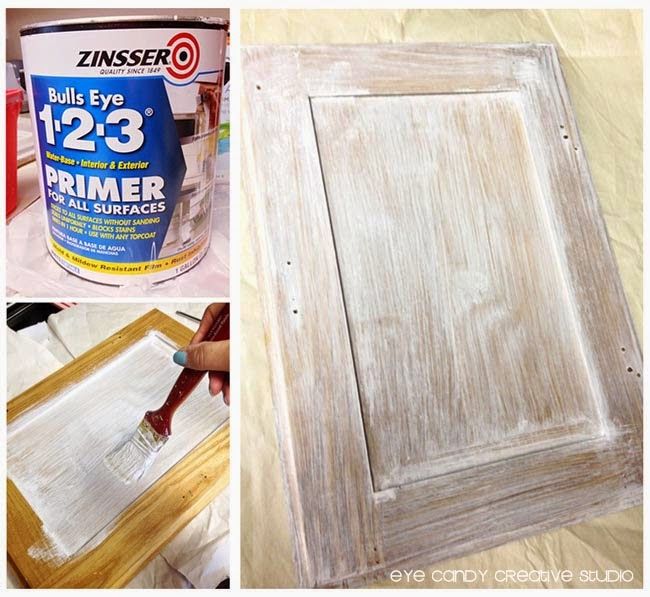 priming bathroom cabinets with Zinsser, use primer on bathroom cabinets