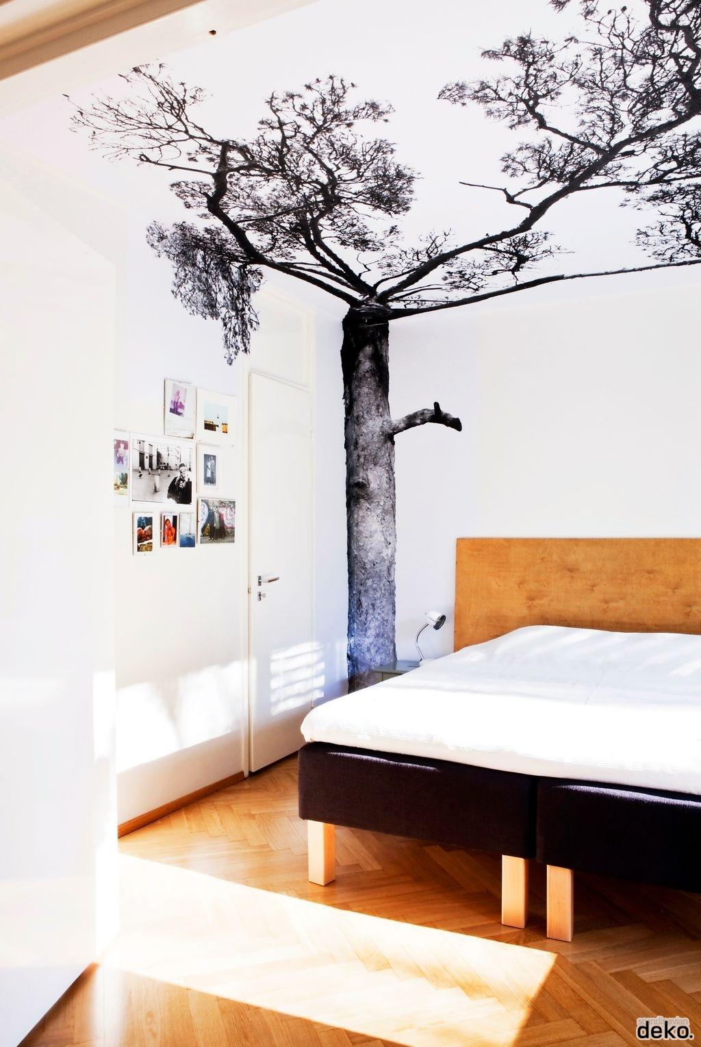 Koradecora arboles en las paredes for Scandi deko