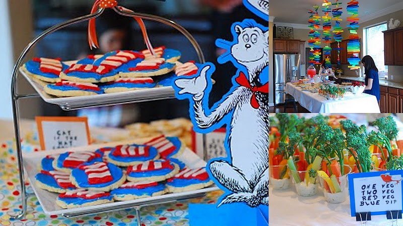 Dr. Seuss inspired party 3