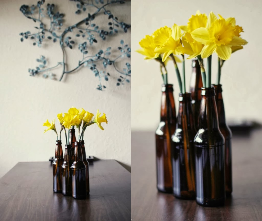 How to recycle decorative jars and bottles for Decoracion de jarrones