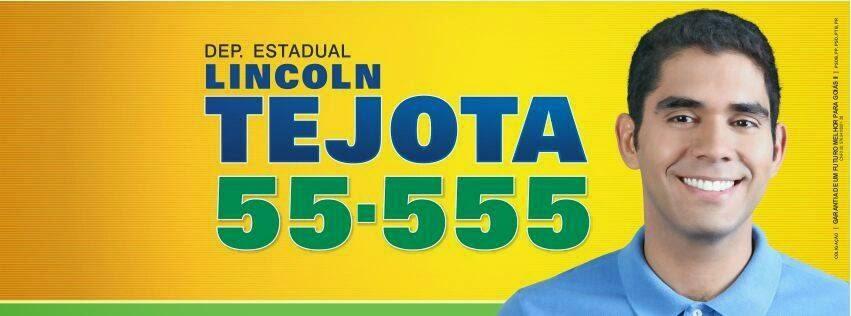 Lincoln Tejota 55.555 Deputado Estadual
