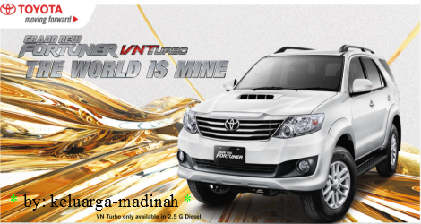 Fortuner SUV VN Turbo 2012