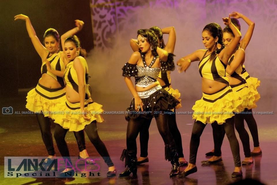 Shalini Tharaka black dress