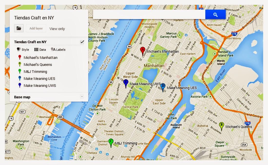 Tiendas de Craft en Manhattan - Nueva York Tercera Parte ~ Sara\'s ...