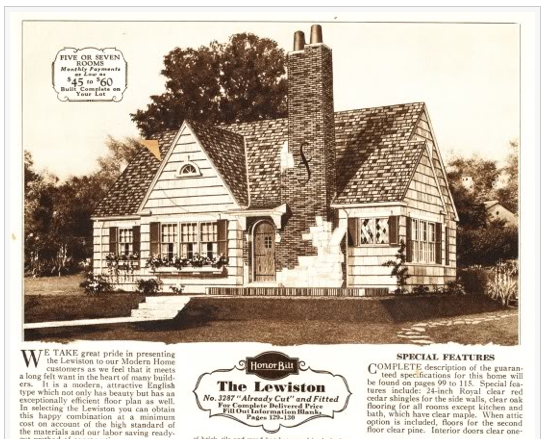 1930 sears lewiston from catalog