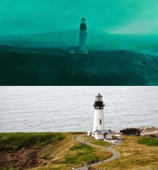 Lighthouse in the movie the ring