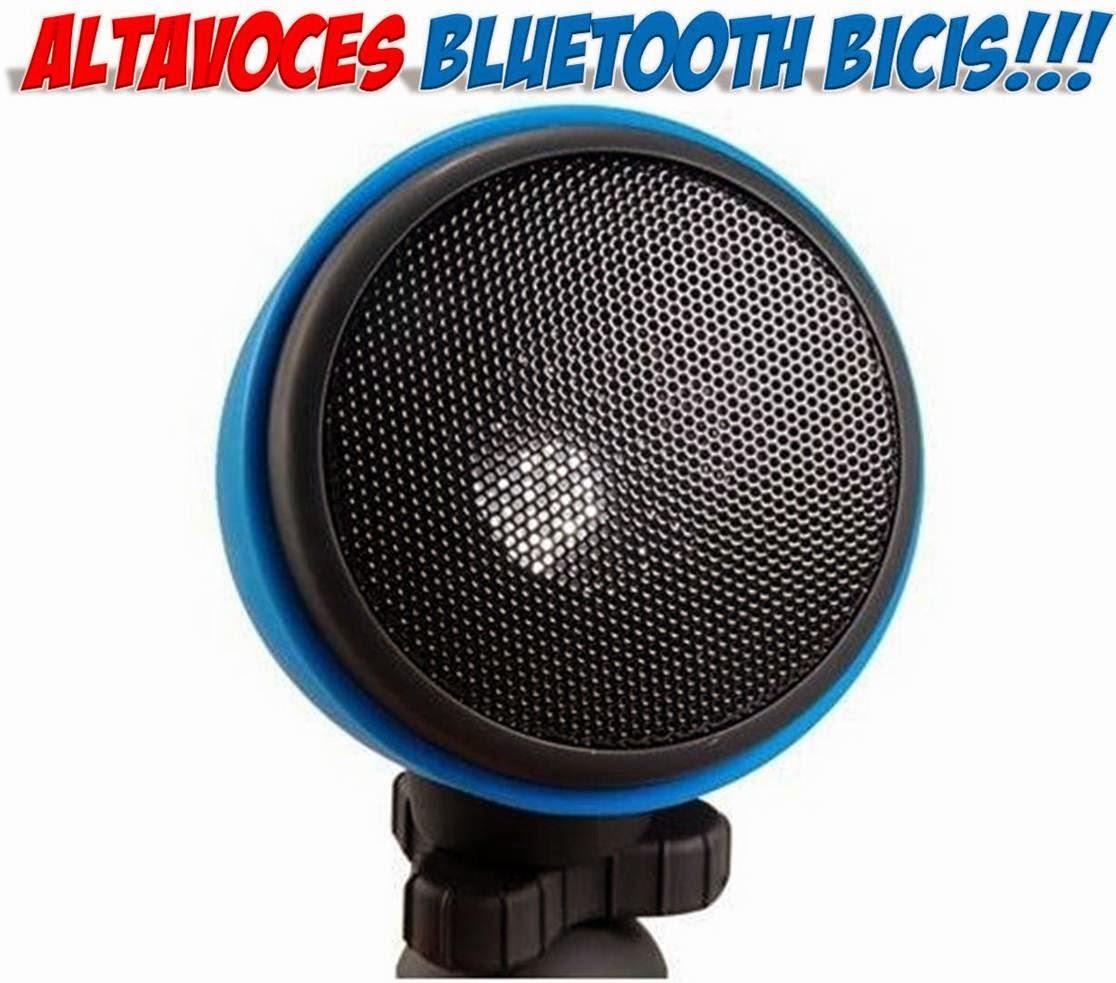 Altavoces bluetooth bicicletas