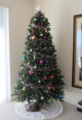 Hesington Christmas Tree 2011