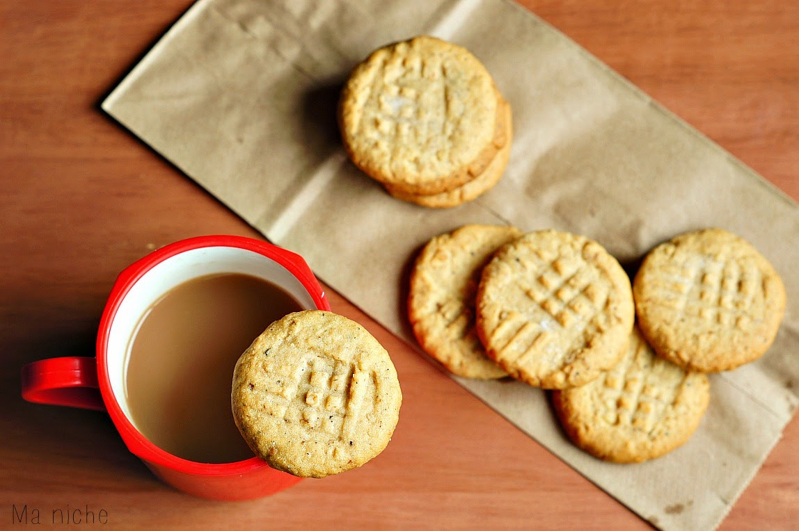 Ma Niche : Italian Walnut Black Pepper Cookies