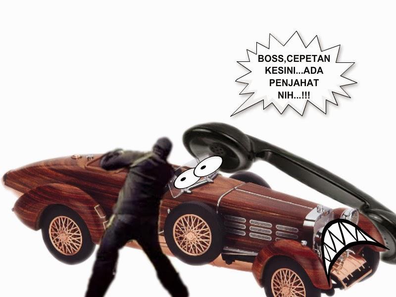 pengaman kendaraan