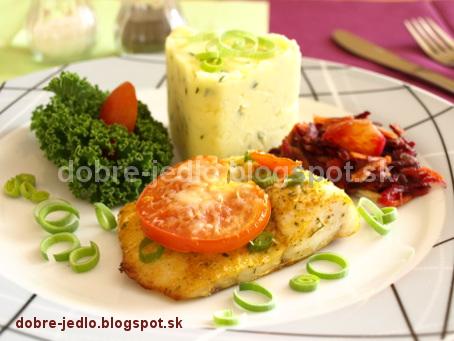 Ryba s paradajkami - recepty