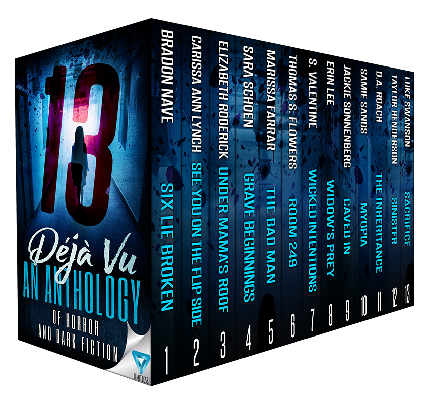 Deja Vu  Anthology Release Blitz