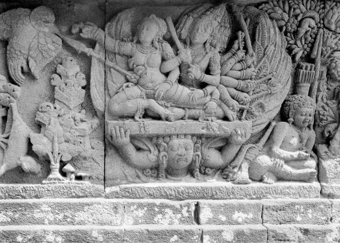 Gambar Relief Candi Prambanan Yogyakarta 2