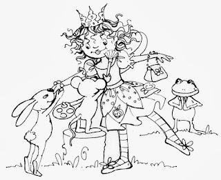 Ausmalbilder - Prinzessin Lillifee - malvorlagen prinzessin kostenlos