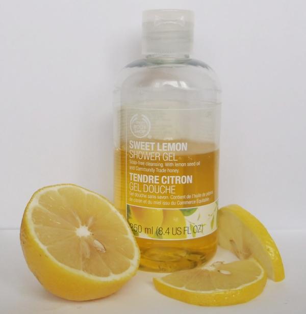 sweet lemon sprchový gél