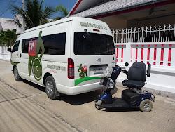 Rolstoel Taxi in Hua Hin, Thailand