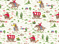 cowboy Cath Kidston Desktop Wallpaper | Free Downloads