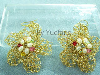 Brass_Flower_Crochet_Earrings_Embellished_With_Inner_Freshwater_Pearls_And_Outer_Sawarovski_Crystals