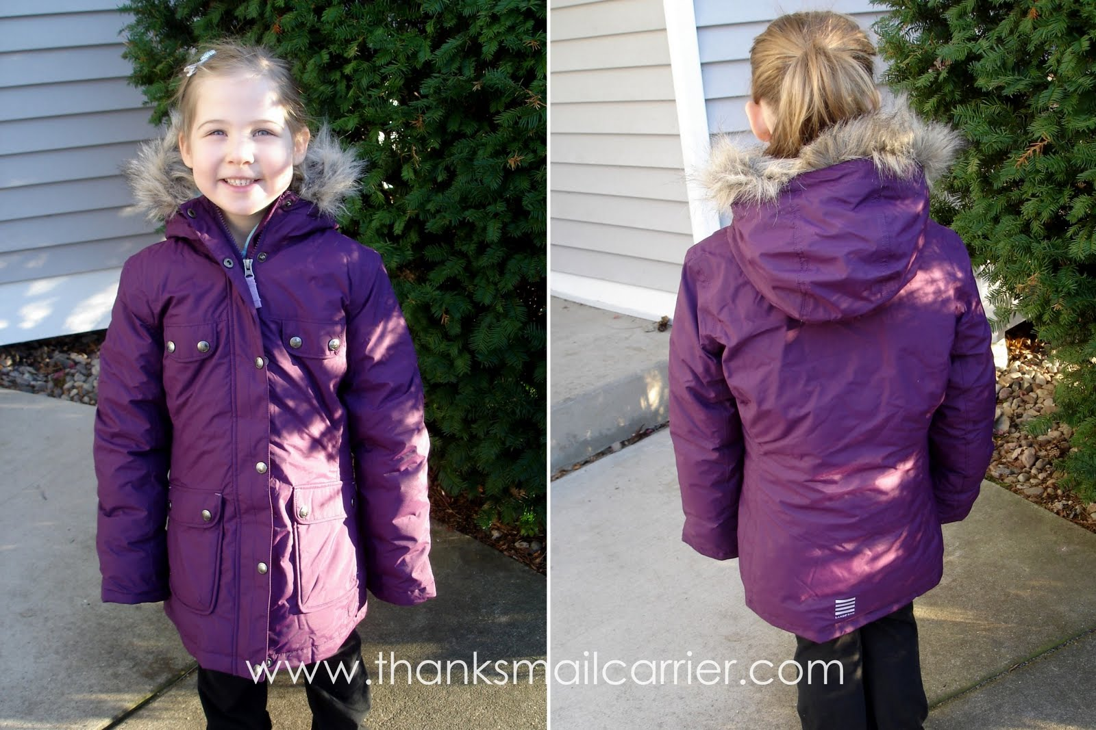 Thanks, Mail Carrier | Girls' Winter Coat Quality Challenge: Four ...