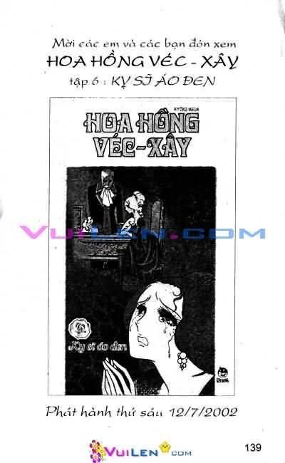 Hoa Hồng Véc-Xây Chapter 5 - Trang 138