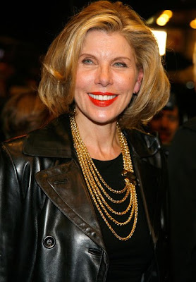 Christine Baranski Gold Chain