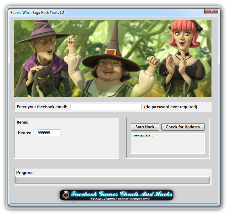 Bubble Witch Saga Hack Tool 2014 Free Download