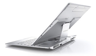 Sony Vaio Duo 13 Ultrabook Back