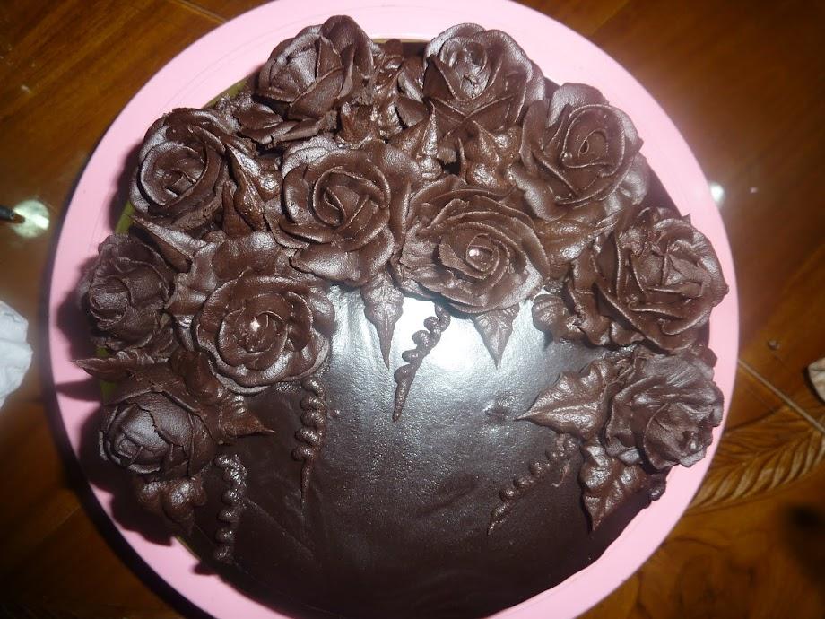 kek coklat ganache - RM 80.00