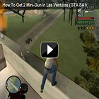 GTA SA Master Save Game - How to Get 2 Miniguns Las Venturas